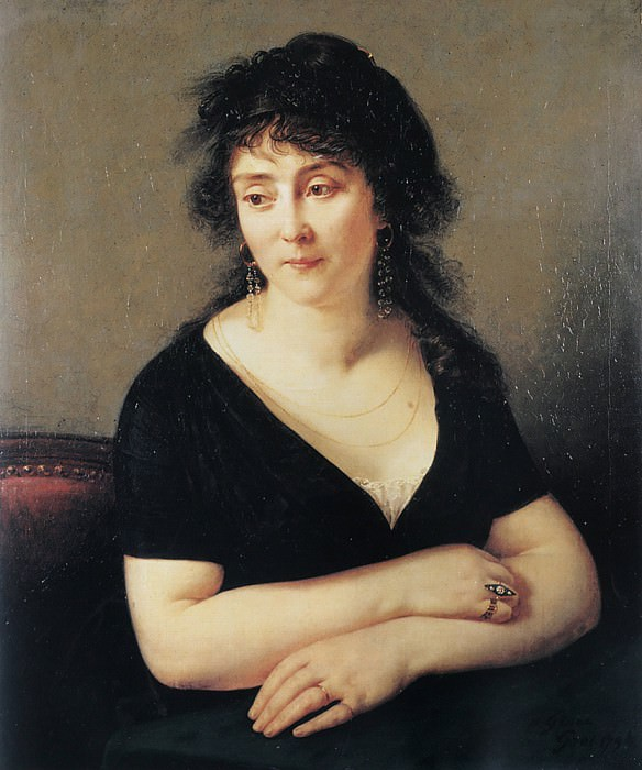Portrait of Madame Bruyere. Antoine-Jean Gros