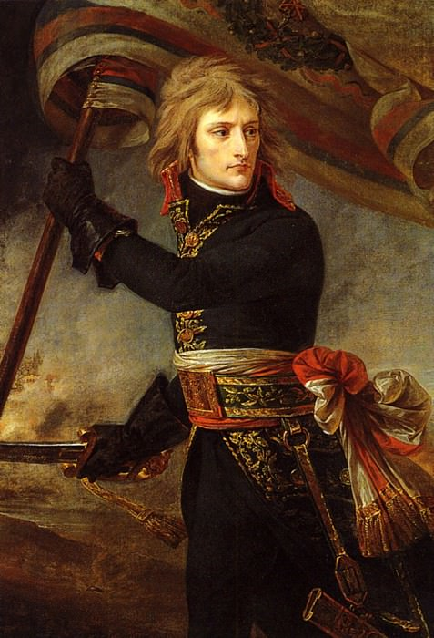 Bonaparte on the Bridge at Arcole. Antoine-Jean Gros