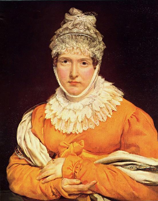 Portrait of Mademoiselle Recamier. Antoine-Jean Gros