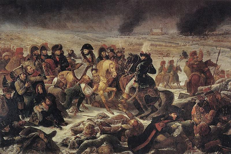 Napoleon on the battlefield of Eylau. Antoine-Jean Gros