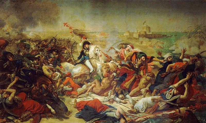 Battle of Aboukir, 25 July 1799 (1806). Antoine-Jean Gros