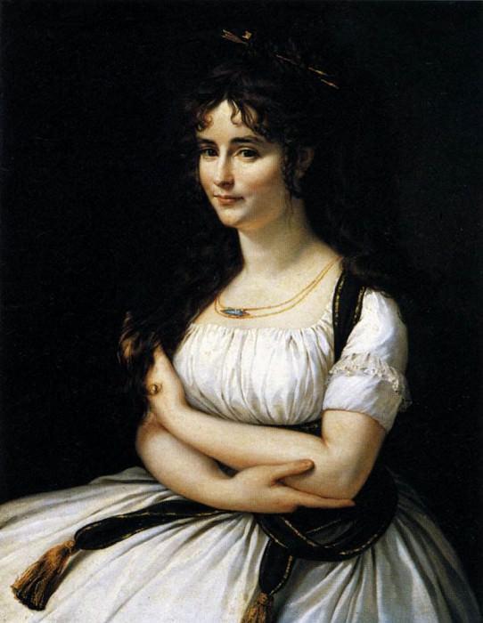 Madame Pasteur. Antoine-Jean Gros