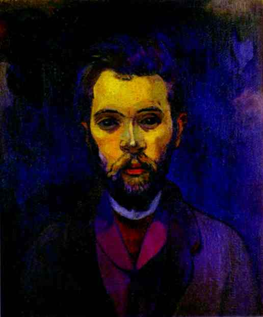 Portrait Of William Molard. Paul Gauguin