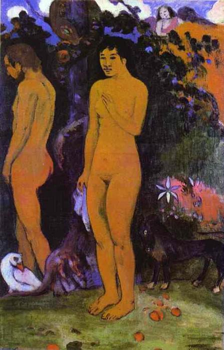 Adam And Eve. Paul Gauguin
