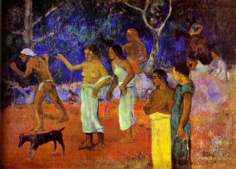 Scenes From Tahitian Life. Paul Gauguin