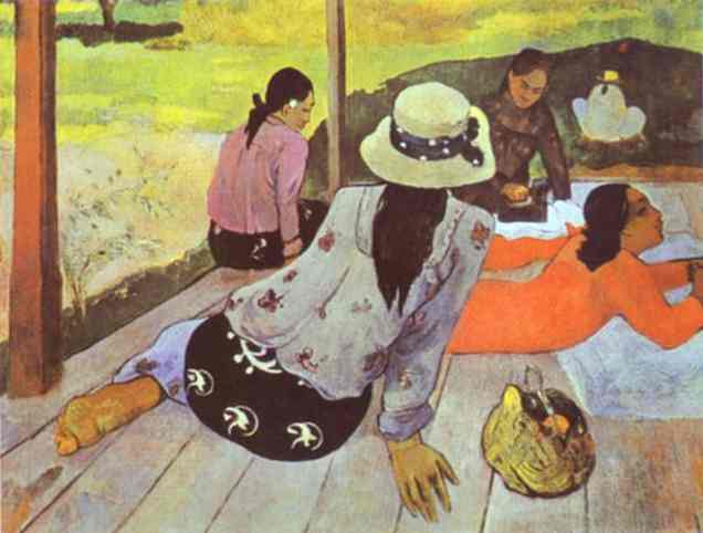Siesta. Paul Gauguin