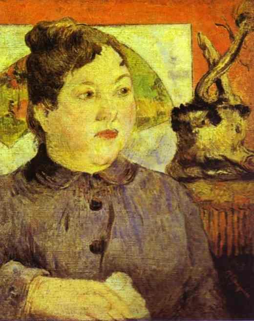Madame Alexandre Kohler. Paul Gauguin
