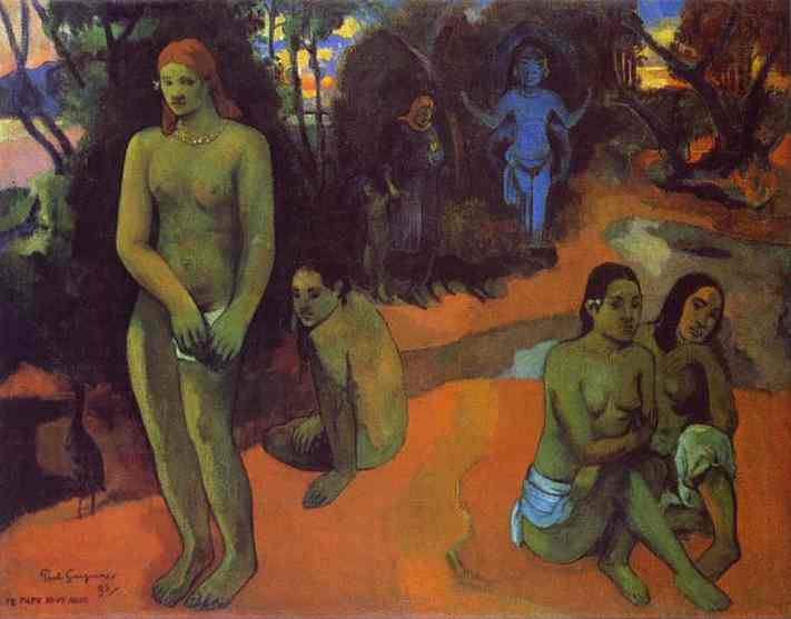 Te Pape Nave Nave (Delectable Waters). Paul Gauguin