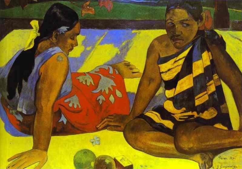Parau Api (WhatS New). Paul Gauguin