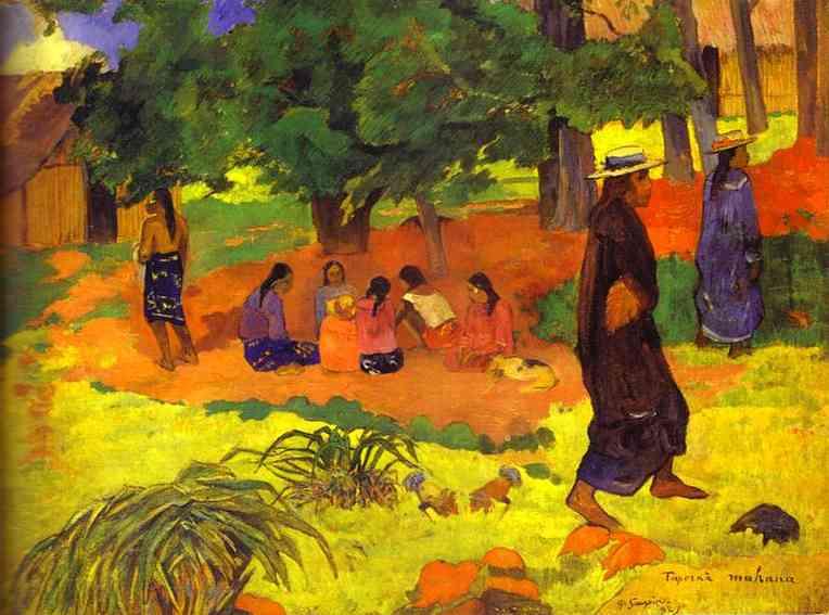 Taperaa Mahana. Paul Gauguin