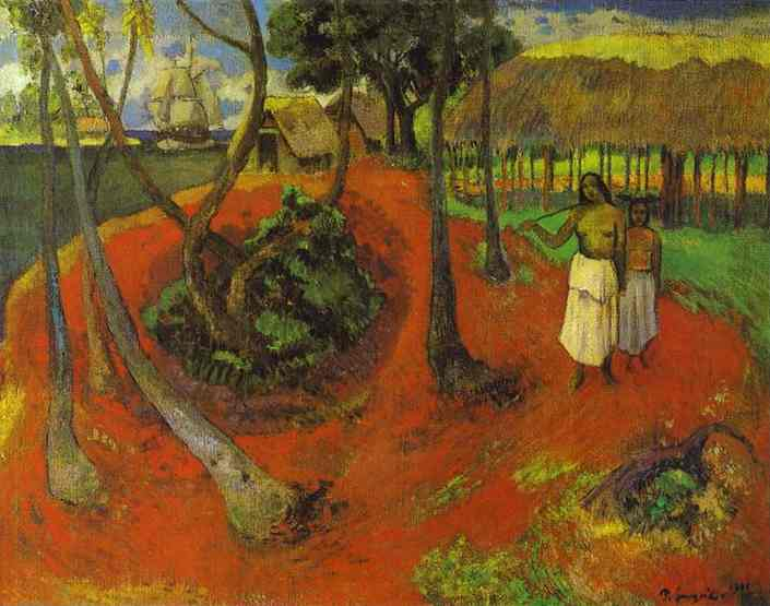 Tahitian Idyll. Paul Gauguin