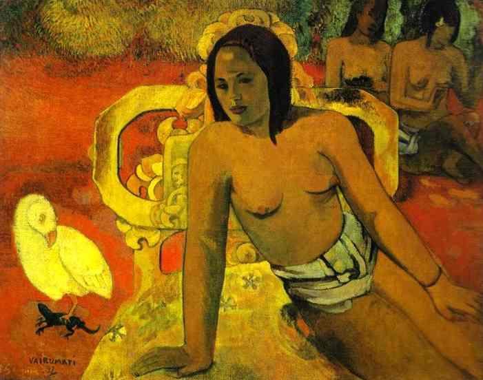 Vairumati. Paul Gauguin
