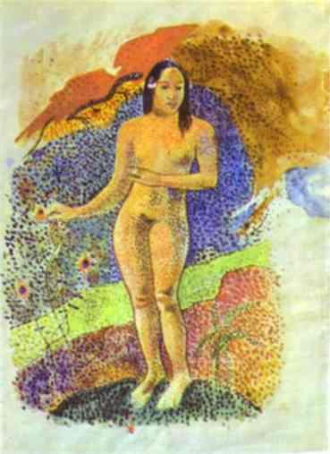 Tahitian Eve. Paul Gauguin