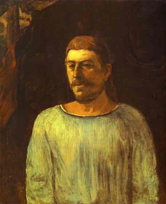 Self-Portrait (1896) (2). Paul Gauguin