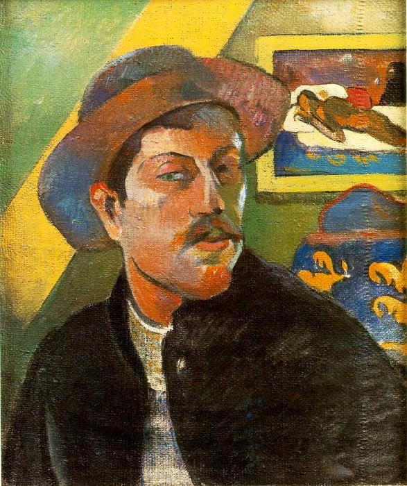 Portrait de lartiste (Self-portrait), ca 1893-94, 4. Paul Gauguin