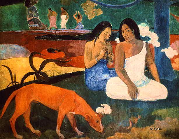 arearea. Paul Gauguin