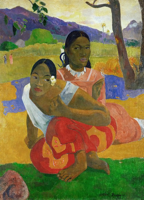 Nafea Faa Ipoipo? (When Are You Getting Married?). Paul Gauguin