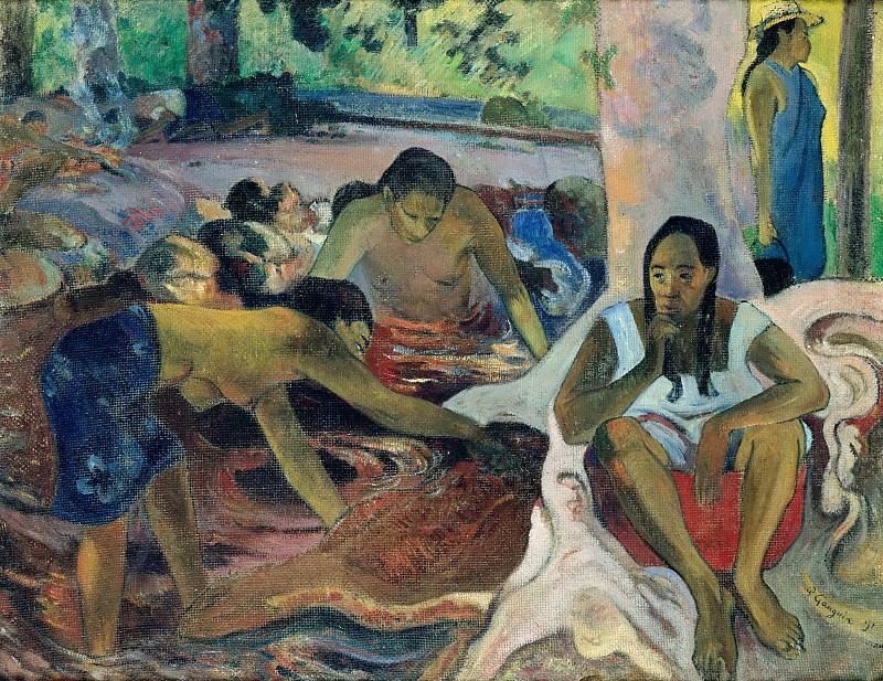 Tahitian Fisherwomen. Paul Gauguin