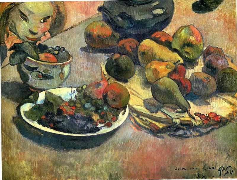 Fruits. Paul Gauguin
