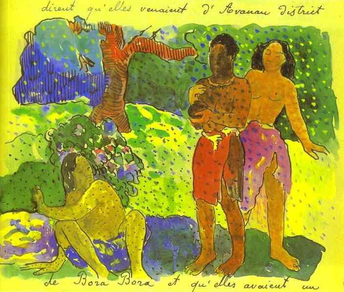 The Messengers Of Oro. Paul Gauguin