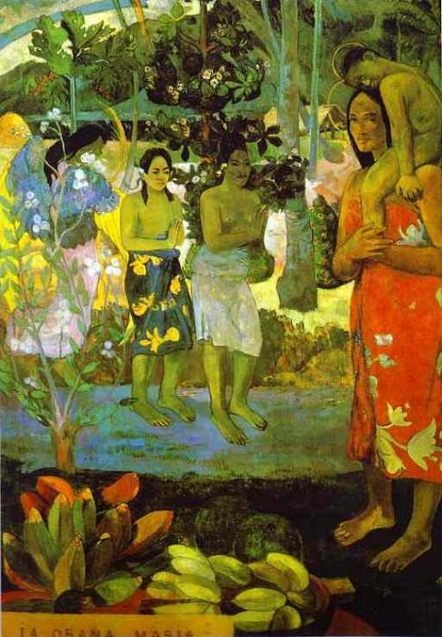 Ia Orana Maria (Hail Mary). Paul Gauguin