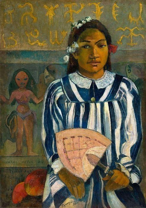 Merahi Metua No Tehamana (Ancestors Of Tehamana). Paul Gauguin