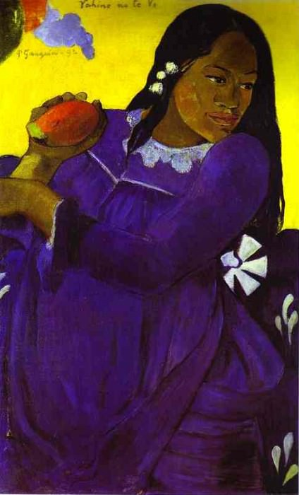 Vahine No Te Vi (Woman With A Mango). Paul Gauguin