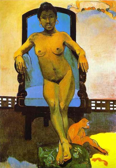 Aita Tamari Vahina Judith Te Parari (Annah The Javanese). Paul Gauguin