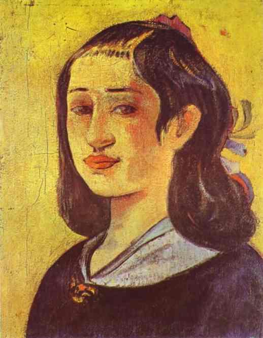 Portrait Of Mother. Paul Gauguin