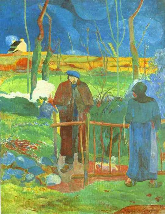 Bonjour, Monsieur Gauguin. Paul Gauguin