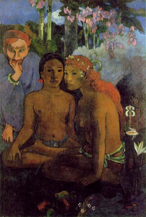 Contes barbares, 1902, 130x89 cm, Museum Folkwang, E. Paul Gauguin