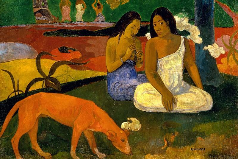 Amusement. Paul Gauguin