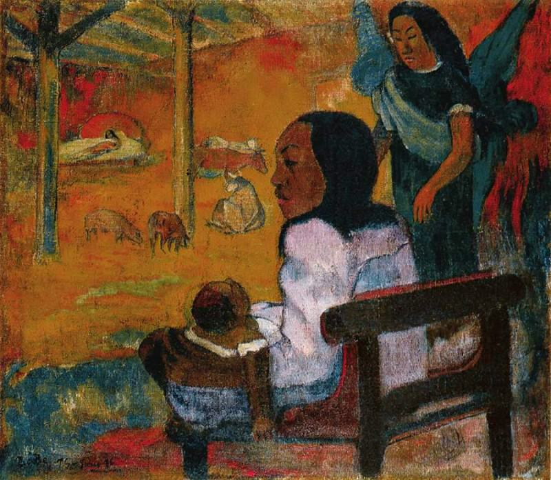 Baby, 1896, Eremitaget. Paul Gauguin