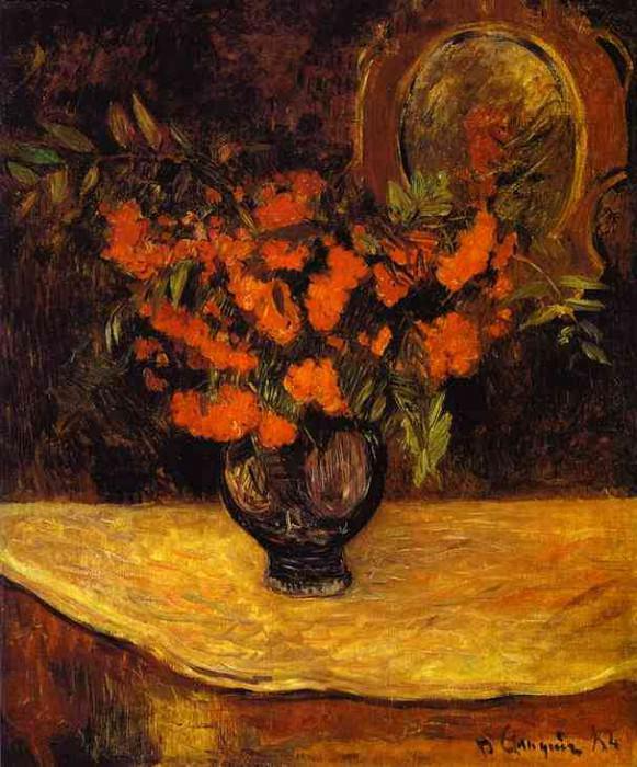 Bouquet. Paul Gauguin