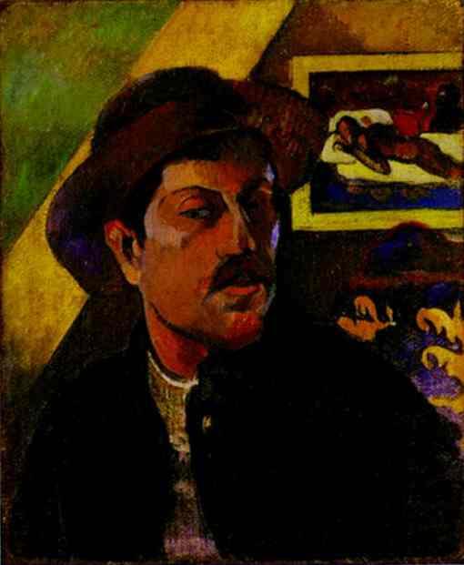 Self-Portrait (1893-1894). Paul Gauguin