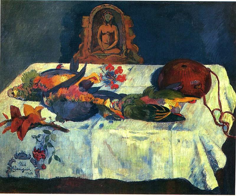 Натюрморт: попугаи, 1902. Поль Гоген