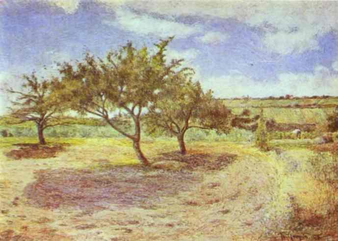 Apple-Trees In Blossom. Paul Gauguin