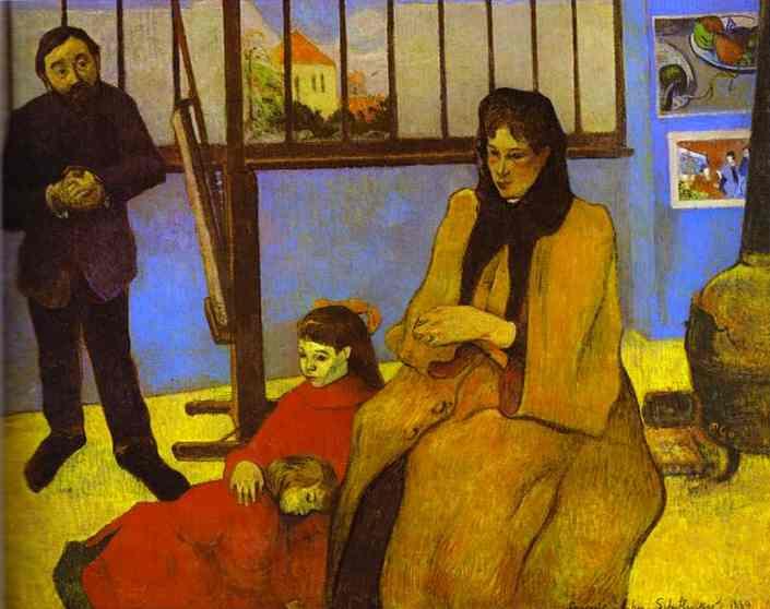 The Schuffenecker Family. Paul Gauguin