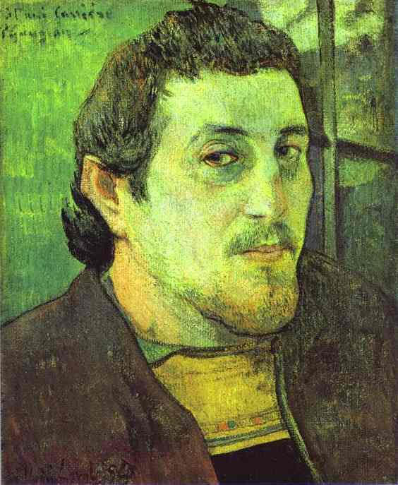 Self-Portrait (1891). Paul Gauguin