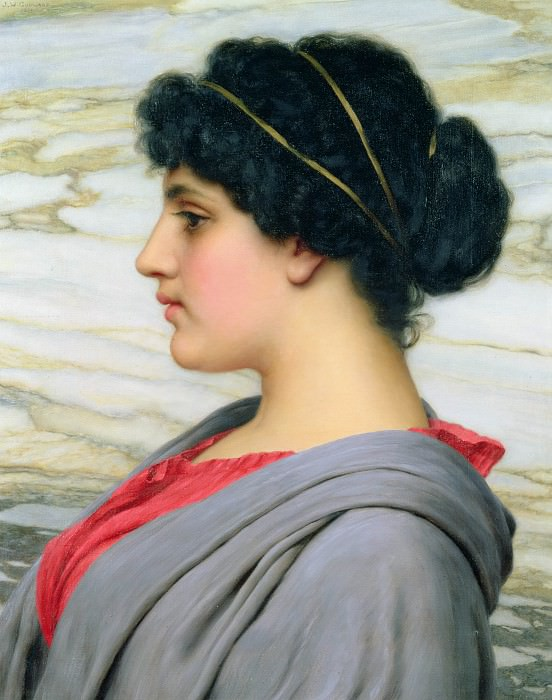 Perilla. John William Godward