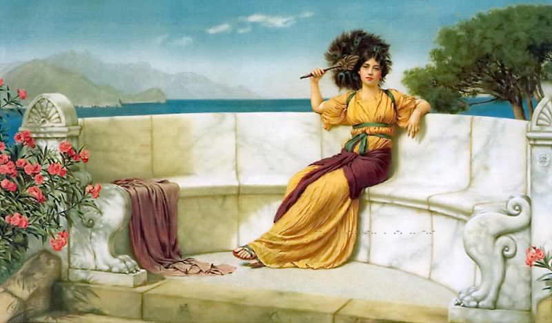 In the Prime of the Summer Time. John William Godward