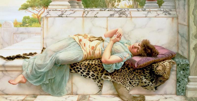 The Betrothed. John William Godward