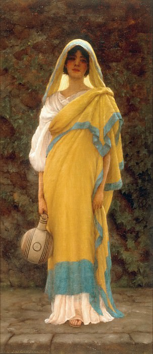 Going to the Well. John William Godward