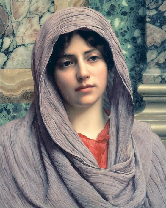 Lycinna. John William Godward