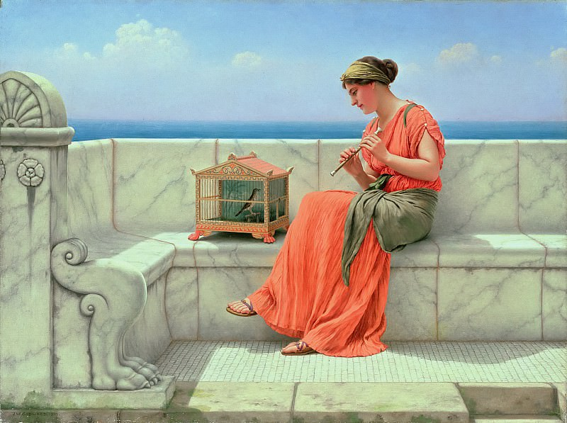 Song Without Words. John William Godward
