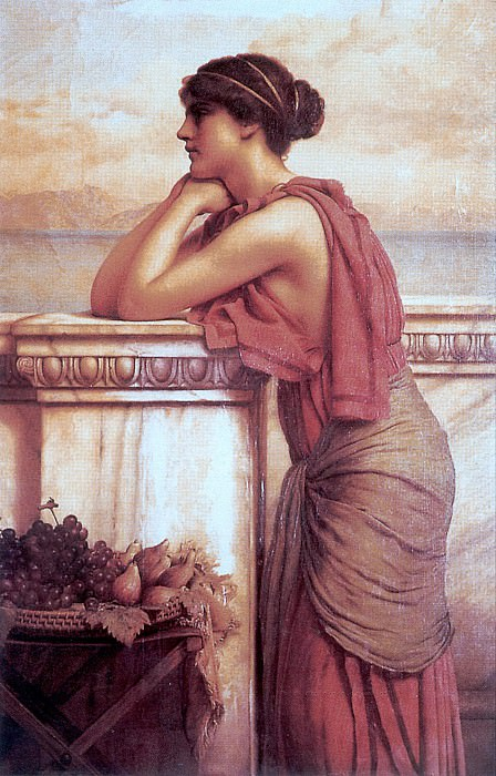 By the Wayside. John William Godward