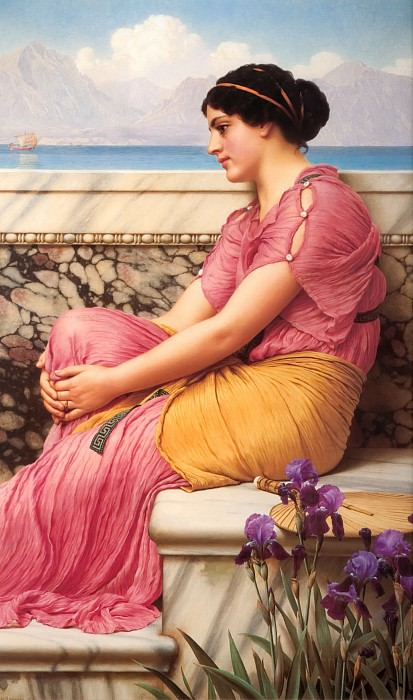 Absence Makes the Heart Grow Fonder. John William Godward