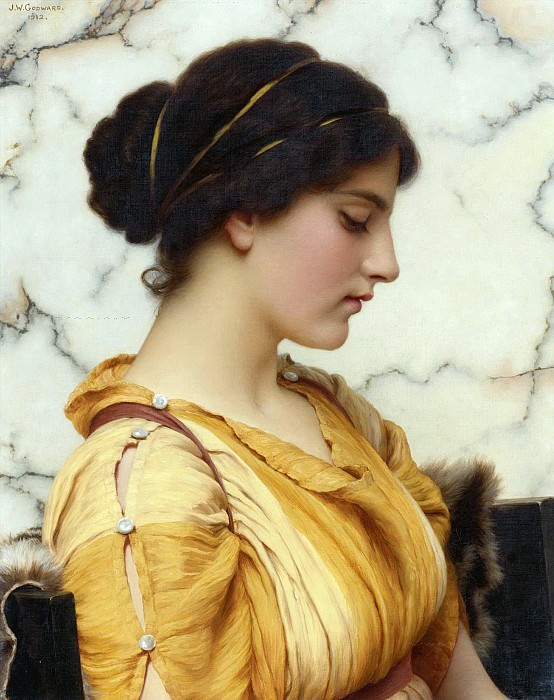 Sabinella. John William Godward