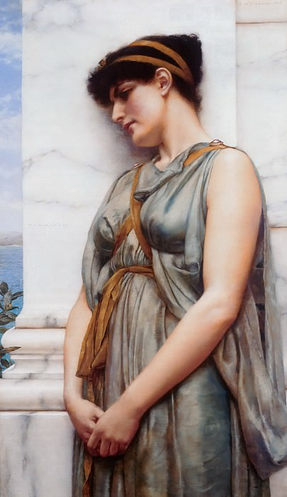 Reverie. John William Godward