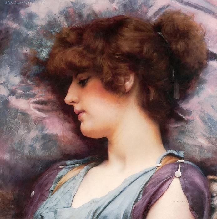 Far Away Thoughts. John William Godward
